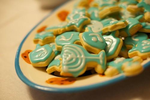 Hannukah cookies