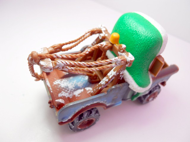 disney cars 2010 christmas WHEE HOO WINTER MATER (4)