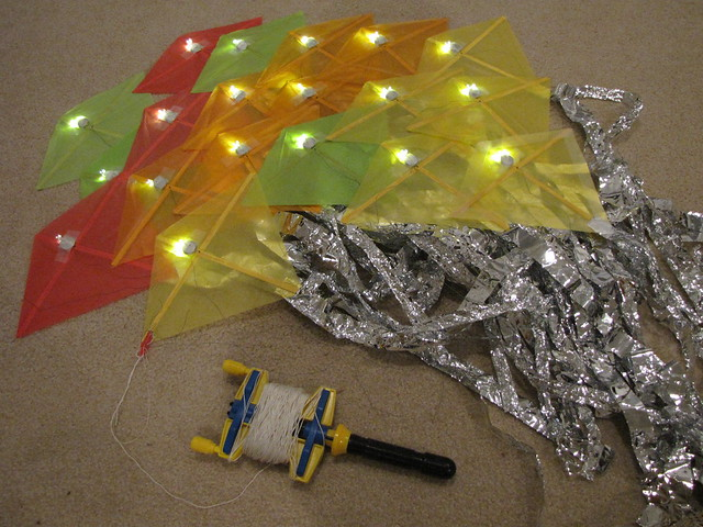 LED dragon kite