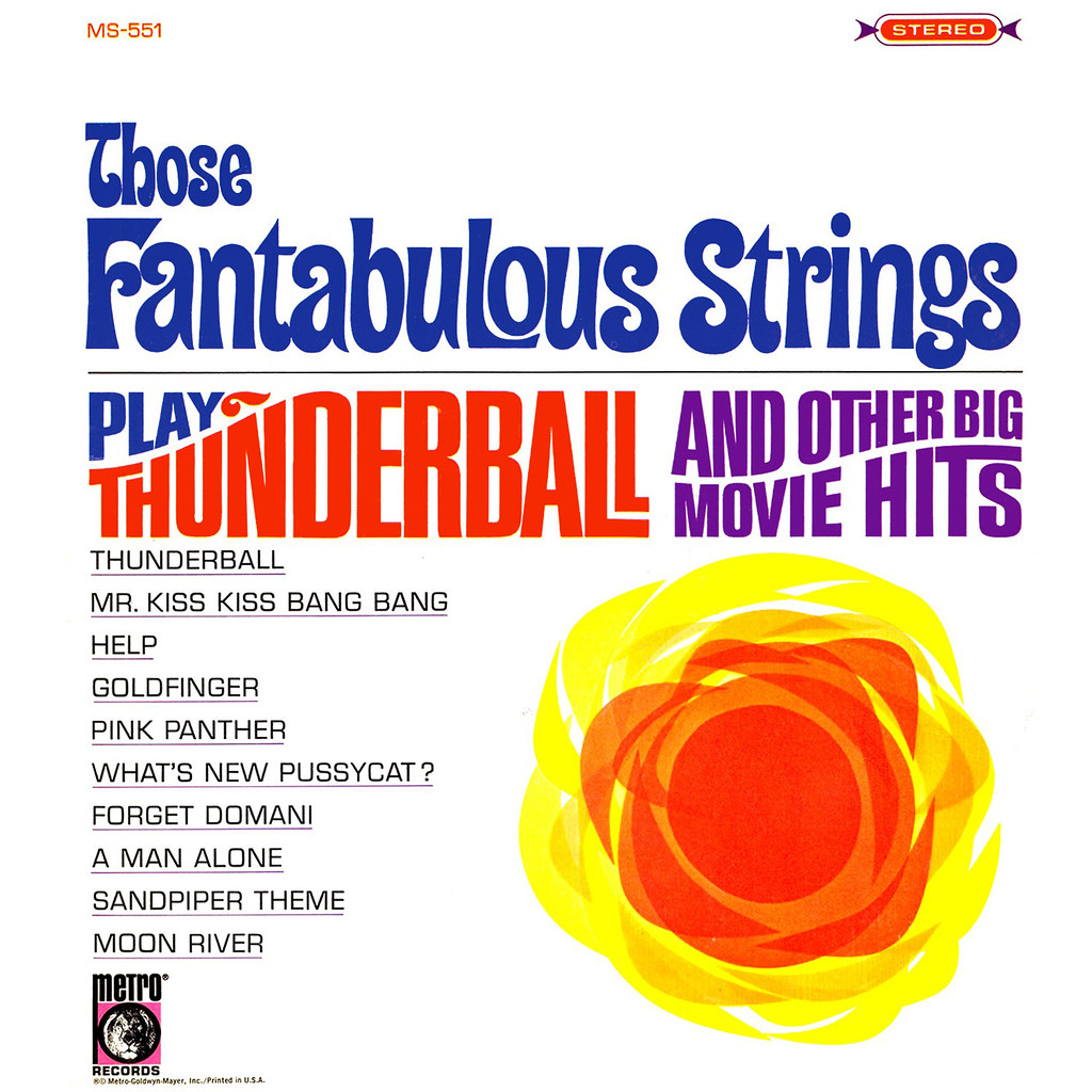 Those Fantabulous Strings Play Thunderball and Other Big Movie Hits