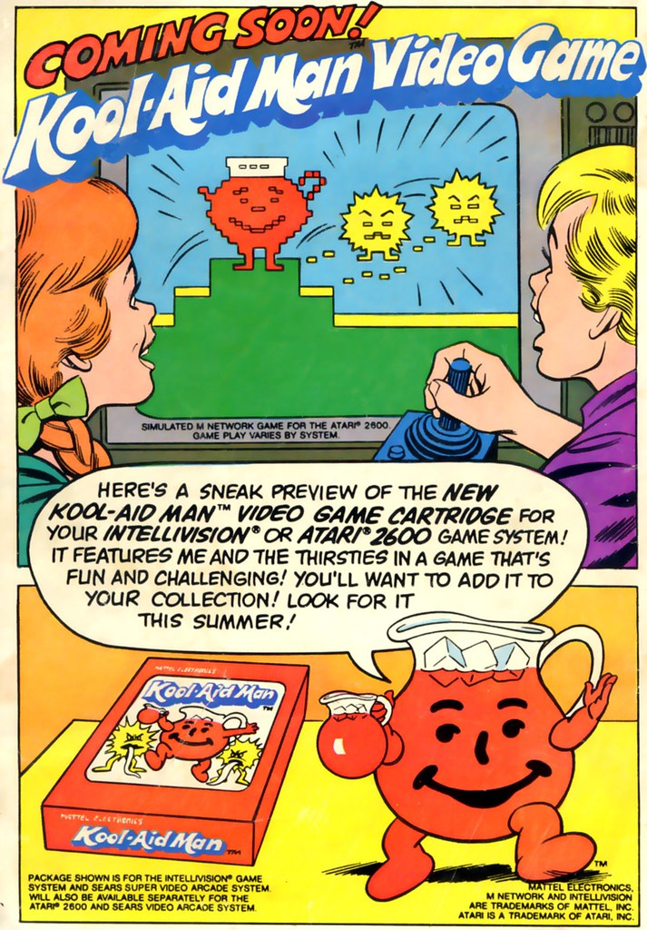 Kool-Aid Man video game ad