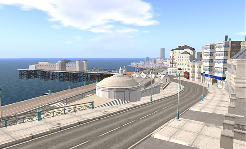 Imperial College London project: Brighton seafront