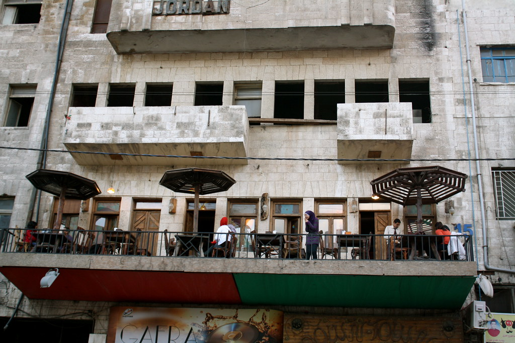 Jafra Cafe and Restaurant, Downtown Old Amman