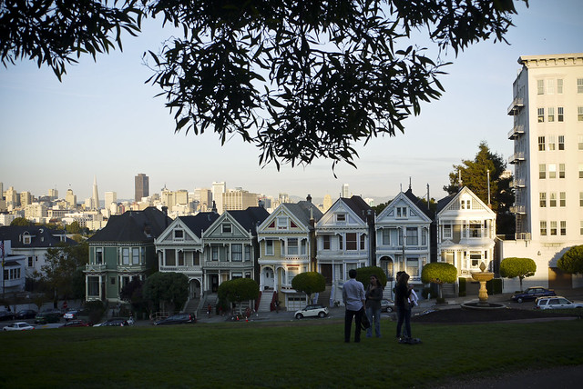 The 6 Sisters of Alamo Square