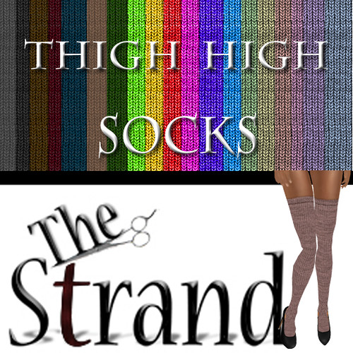 The Strand Thigh Highs Ad