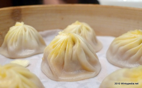 Shanghai dumpling with crab meat