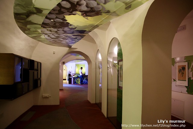 看起來有點空空蕩蕩的葡萄藤博物館,大約介紹了老藤的歷史及Maribor產酒的歷史,但現在想起來我忘記要簡介來看了。
