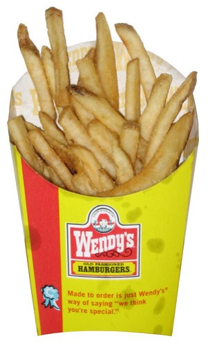 REVIEW: Wendy's Natural Cut Fries with Sea Salt - The ...