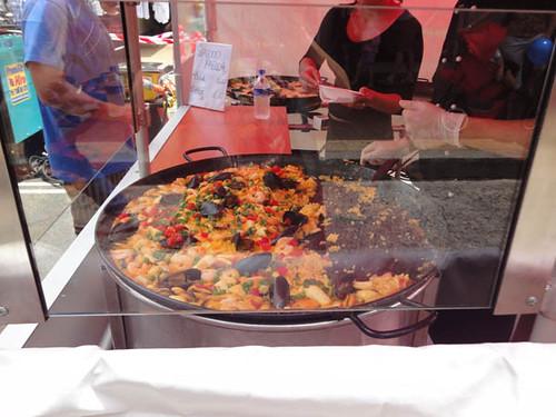 Dulwich Hill Street Fair: Paella