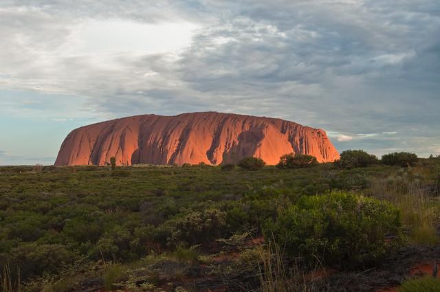 Uluru Sunset I