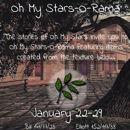 Oh My Stars-O-Rama January
