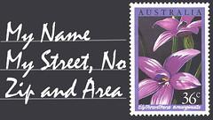 mini postcard illustration