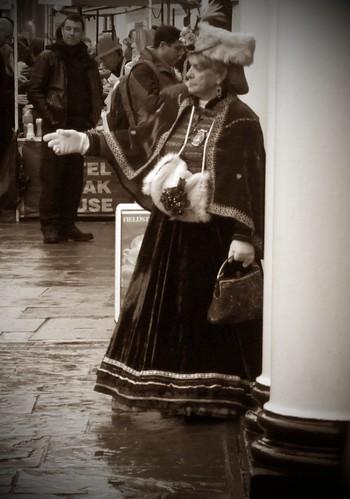 Dickension Festival - Victorian Lady