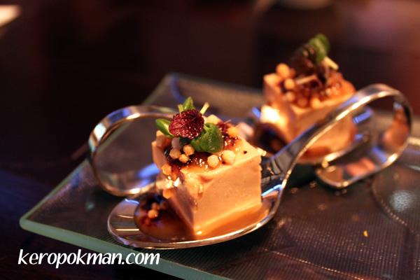 Foie Gras on Toastlet with Ginger & Yuzu