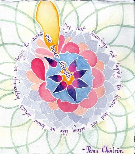 Inner strength mandala