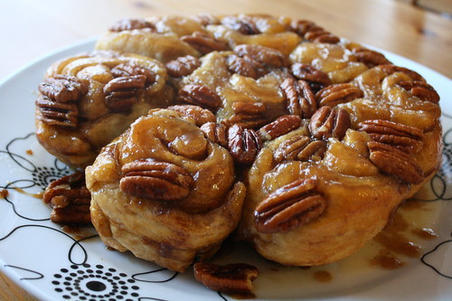 christmas eve sticky buns