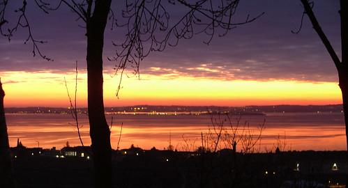 sunset 3 jan 2010