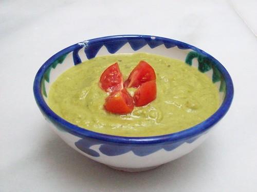 salsa de pimientos verdes