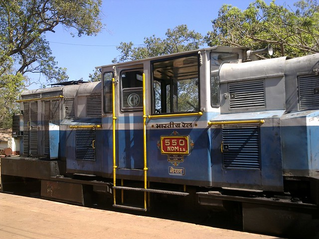 Neral-Matheran Train Engine