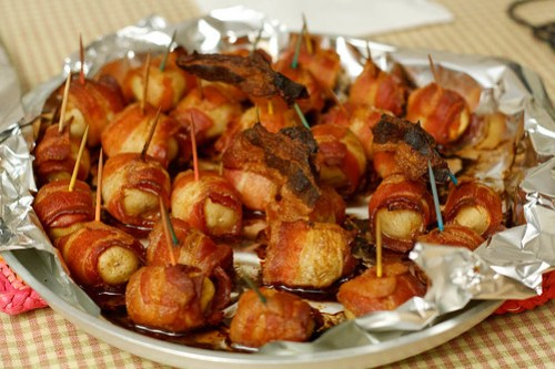 Bacon Wrapped Spuds