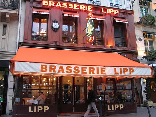 Brasserie Lipp - Exterior