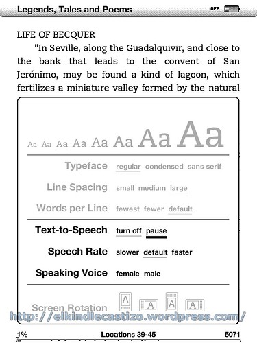 Text-to-Speech: Características
