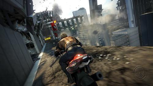 Apocalypse MotorStorm para PS3: faixa Skyline