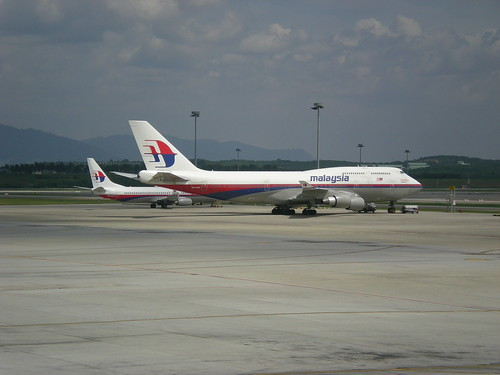 KLIA MAS Boeings