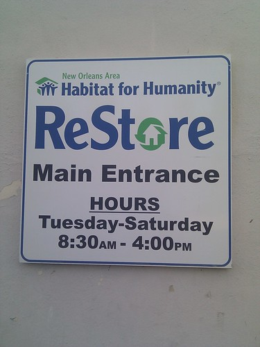 ReStore, New Orleans, NOLA