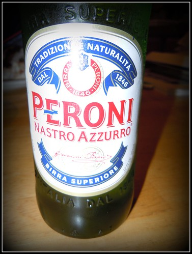 Peroni -- A Wonderful Italian Beer