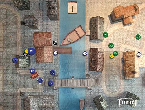 Malifaux Battle Report - Turn 1