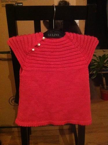 Peter + Fern's baby's dress