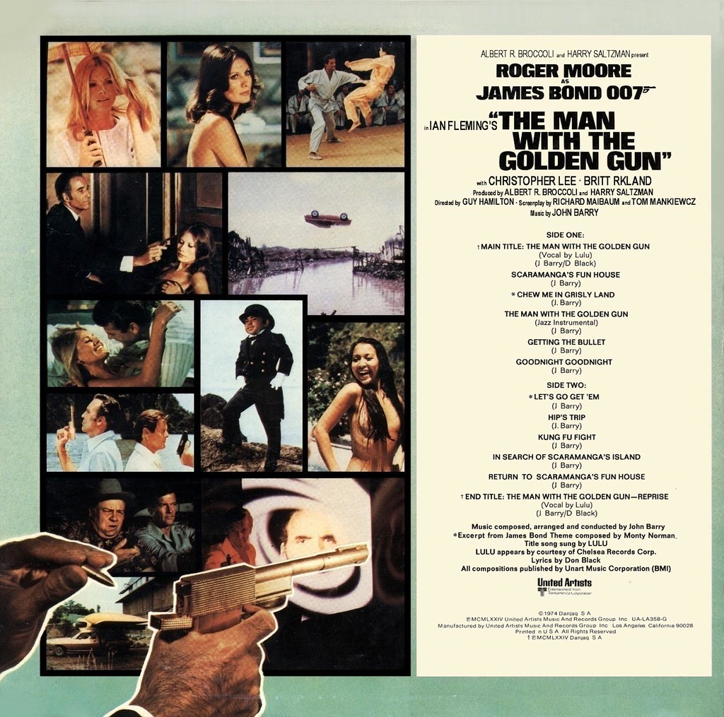 John Barry - The Man with the Golden Gun