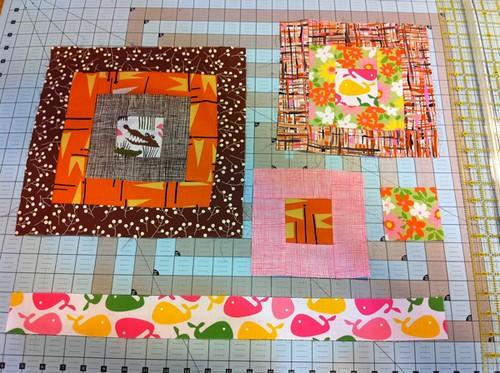 QfQ fabric + blocks