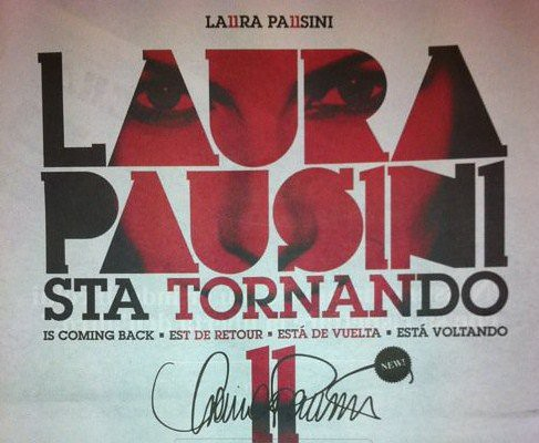 Laura Pausini sta tornando.. by cristiana.piraino