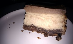 Nigella's chocolate peanut butter cheesecake