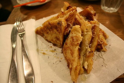 Foxcroft & Ginger French Toast with Ham and Cheese