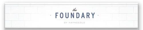 the foundary header