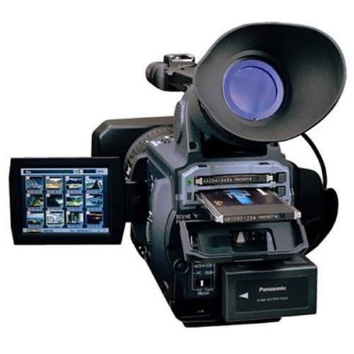 high with zoom optical panasonic definition pro camcorder p2 included 1080i 3ccd 16gb 13x aghvx200a p2dvcpro