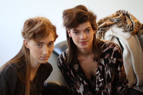 RACHEL COMEY FALL 2011- BACKSTAGE (14)
