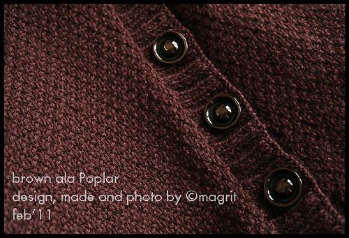 brown ala Poplar - detail
