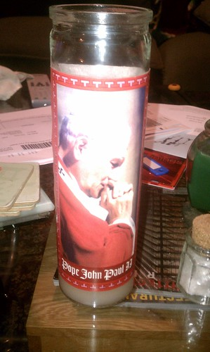 POPE CANDLE!