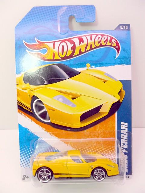 hot wheels enzo ferrari yellow (1)