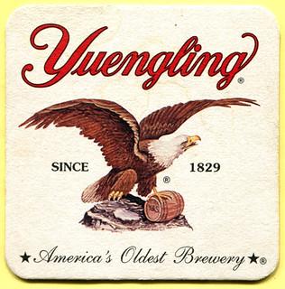 Yuengling Beer Mat