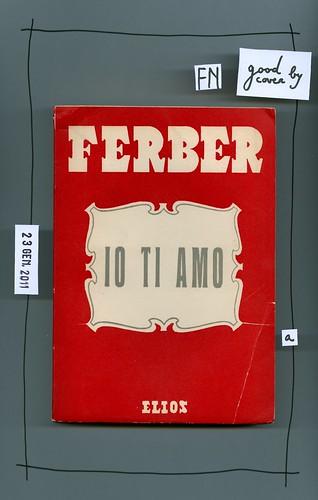 Edna Ferber, Io ti amo, Elios 1950. Le streghe 25. Copertina