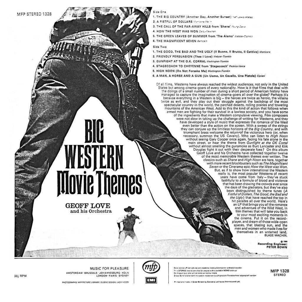 Geoff Love - Big Western Movie Themes