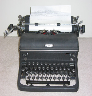 Murder She Wrote Typewriter