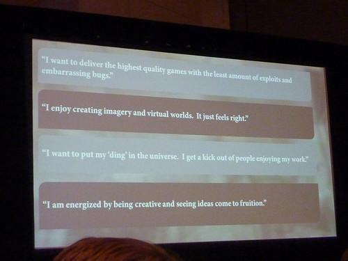 GDC 2011 Level Design Quotes
