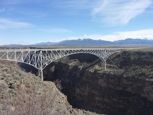 NM, Rio Grande Gorge Bridge 1