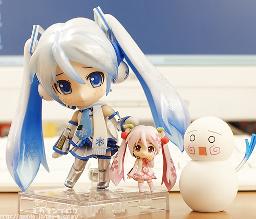 Nendoroid Plus Hatsune Miku: Spring version